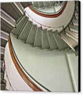 Revolving Stairs Canvas Print by Photo By Dasar