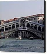 Rialto Bridge Canvas Print by Keith Stokes