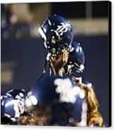 Rice Football Helmets  Canvas Print