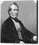 Richard Cobden (1804-1865). /nenglish Politician And Economist. Steel Engraving, English, 19th Century Canvas Print