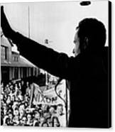 Richard Nixon Campaigning For Governor Canvas Print