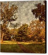 Ridge Walk - Holmdel Park Canvas Print by Angie Tirado