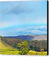 Rinca Panorama Canvas Print