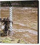 Rising River Level Canvas Print