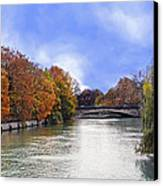 River Colors Canvas Print by Anthony Citro