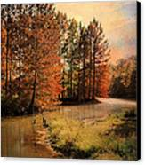 River Of Hope Canvas Print by Jai Johnson