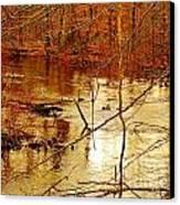 River Russel Canvas Print by Lisa  Ridgeway