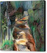 Road To Home Canvas Print by Susan Hanlon
