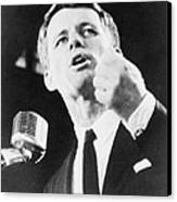 Robert F. Kennedy Making His Acceptance Canvas Print