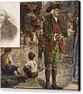 Robert Raikes (1735-1811) Canvas Print by Granger