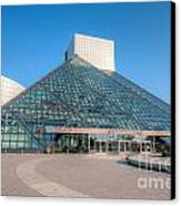 Rock And Roll Hall Of Fame II Canvas Print by Clarence Holmes