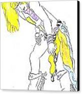 Rock Star Canvas Print by Jeannie Atwater Jordan Allen
