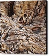 Rock Texture Canvas Print by Kelley King