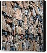 Rock Wall Canvas Print by Miguel Capelo