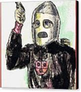 Rocket Man Canvas Print by Mel Thompson