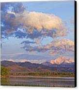 Rocky Mountain Early Morning View Canvas Print