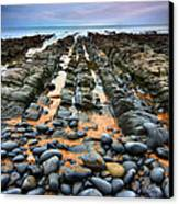 Rocky Road To Nowhere Canvas Print by Mark Leader