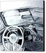 Roll The Dice Canvas Print by Carolyn Ardolino