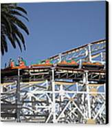 Roller Coaster - 5d17608 Canvas Print