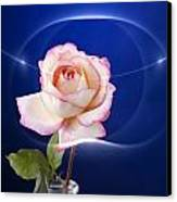 Romance Rose Canvas Print by M K  Miller
