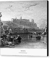 Rome: Aventine Hill, 1833 Canvas Print