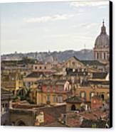 Rome Cityscape Canvas Print by Marco Poggioli