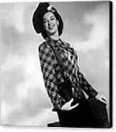 Rosalind Russell, Ca. Early 1940s Canvas Print