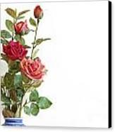 Roses Bouquet Canvas Print