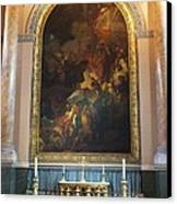 Royal Naval Chapel Interior Canvas Print by Anna Villarreal Garbis
