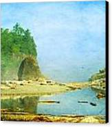 Ruby Beach Dreams Canvas Print by Terrie Taylor