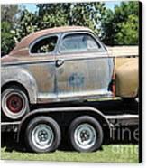 Rusty 1941 Chevrolet . 5d16210 Canvas Print