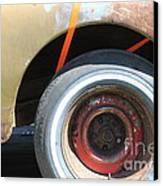 Rusty 1941 Chevrolet . 5d16212 Canvas Print by Wingsdomain Art and Photography