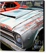 Rusty 1965 Plymouth Satellite . 5d16631 Canvas Print by Wingsdomain Art and Photography