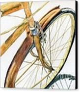 Rusty Beach Bike Canvas Print by Norma Gafford
