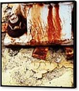 Rusty Bolt Abstraction Canvas Print