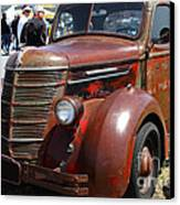 Rusty Old 1935 International Truck . 7d15497 Canvas Print by Wingsdomain Art and Photography
