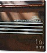 Rusty Old 1939 Chevrolet Master 85 . 5d16198 Canvas Print by Wingsdomain Art and Photography