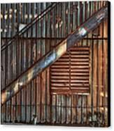 Rusty Stairway Canvas Print by Brenda Bryant