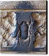 Sacred Scarab. Canvas Print by JSM Fine Arts John Malone