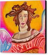 Sad Angel Canvas Print