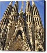 Sagrada Familia Barcelona Spain Canvas Print by Matthias Hauser