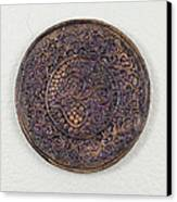 Sahasrara Crown Chakra Plate Canvas Print