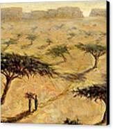 Sahelian Landscape Canvas Print by Tilly Willis