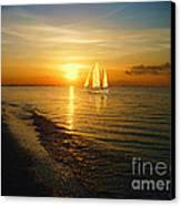 Sailing Canvas Print by Jeff Breiman