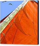 Sails Five Canvas Print by Kathleen Horner