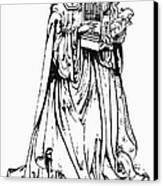Saint Cecilia Canvas Print by Granger