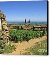 Saint Joseph En Beaujolais. France Canvas Print by Bernard Jaubert