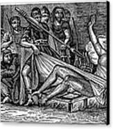 Saint Lawrence (c225-258) Canvas Print by Granger