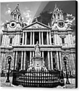 Saint Paul's Cathedral Canvas Print by Meirion Matthias