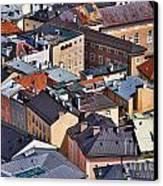 Salzburg's Roofs Austria Europe Canvas Print